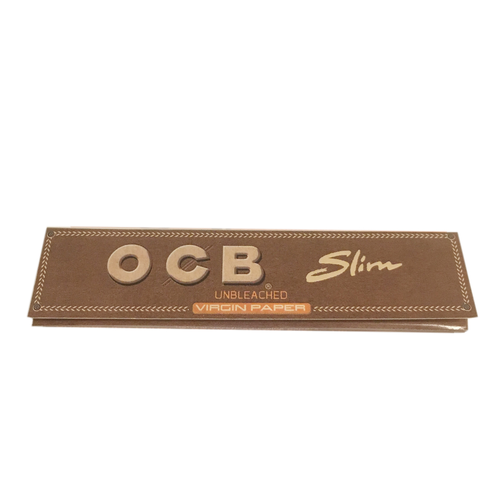 OCB Virgin Unbleached Kingsize Slim