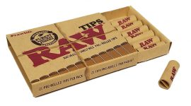 RAW Pre-Rolled Filter Tips 21-pack