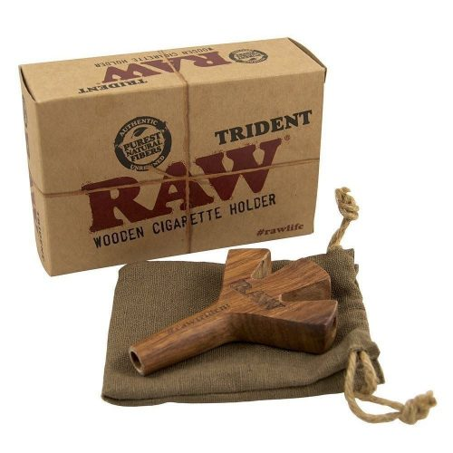 RAW Trident Cig Holder Wooden