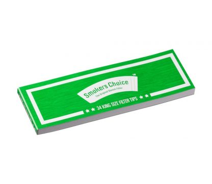 Smokerschoice - King Size Green Filter Tips