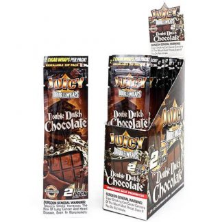 Juicy Jays Blunt Wraps (Double Dutch Chocolate 2-pack) - smokeshop.se