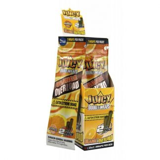 Juicy Jays Blunt Wraps (Orange Overload 2-pack) - smokeshop.se