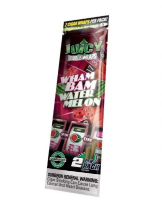Juicy Jays Blunt Wraps (Watermelon 2-pack) - smokeshop.se